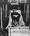 Julian Klaczko in coffin (1906).jpg