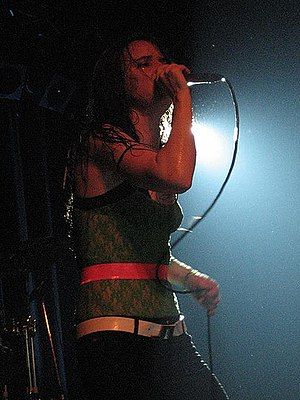 Juliette and the Licks - Juliette Lewis in 2007