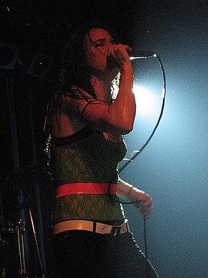 Juliette and the Licks - Juliette Lewis in 2007