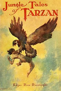 <i>Jungle Tales of Tarzan</i> Short story collection by Edgar Rice Burroughs