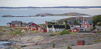 Jurmo - Image: Jurmos bebyggelse 2005