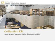 KB Collecties 8 juni 2013 AnoukJanssen.pdf