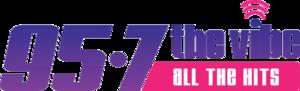 KCHZ - Image: KCHZ 95.7 the Vibe logo