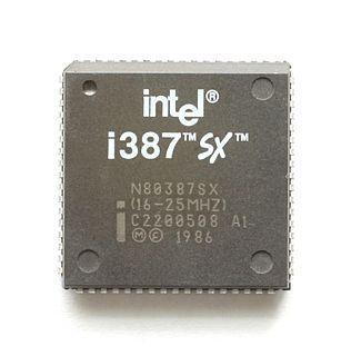 Intel 80387SX