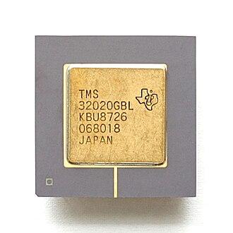 Texas Instruments TMS320 - Texas Instruments TMS32020.