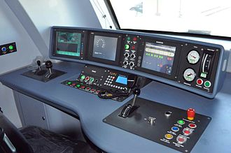 KTM Class 92 - The Class 92 SCS uses Siemens instruments for control