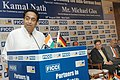 Kamal Nath giving a special address at an interactive meeting with the German Federal Minister of Economics and Technology, Mr. Michael Glos, jointly organised by the FICCI and Indo German Chamber of Commerce, in New Delhi.jpg