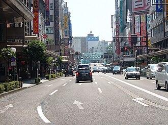 Hokuriku region - Image: Kanazawa Katamachi