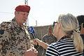 Karl-Heinz Lather mit Marion von Haaren in Afghanistan.jpg