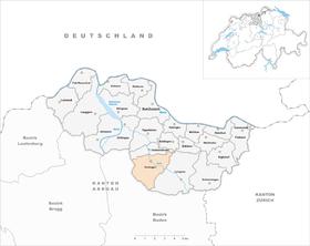 Karte von Endingen
