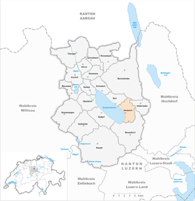 Map of Sempach