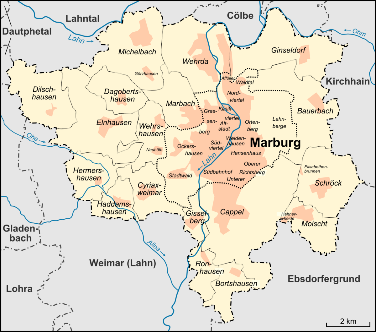 Freiburg Karte Stadtteile.Ortenberg Marburg Wikipedia