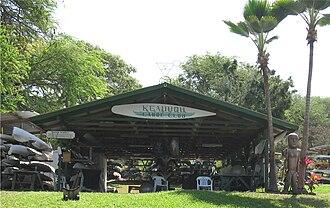 Keauhou Bay - Image: Keauhou Canoe Club