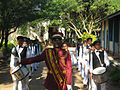 Kekunagolla national school band group.jpg