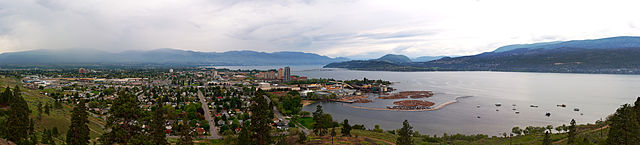 Kelowna By Darren Kirby (Own work) [CC BY-SA 3.0 (http://creativecommons.org/licenses/by-sa/3.0) or GFDL (http://www.gnu.org/copyleft/fdl.html)], via Wikimedia Commons
