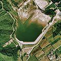 Kemuyama Dam lake 1976.jpg