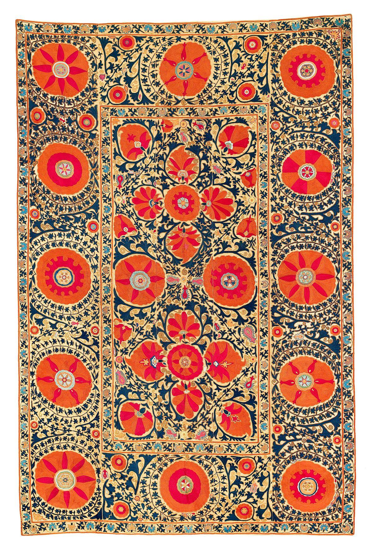 Suzani Textile Wikipedia