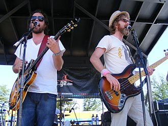 Broken Social Scene - The founders of Broken Social Scene, Kevin Drew and Brendan Canning.