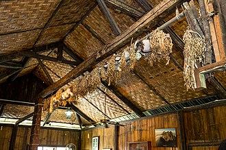 Penampang District - House of skulls in Monsopiad Cultural village, Penampang.