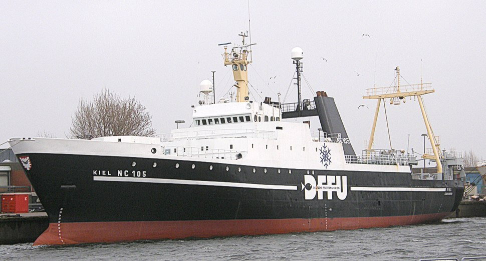 Kiel (Ship 1973) -Deutsche Fischfang Union- Cuxhaven 2008 by-RaBoe 01
