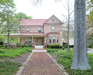 National Register of Historic Places listings in Greenwood County, South Carolina - Image: Kinard House