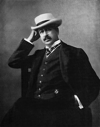 King C. Gillette - King C. Gillette wearing a Panama hat, circa 1908. This is said to be Gillette's favorite picture of himself.