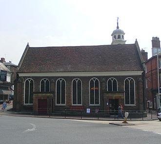 Church of King Charles the Martyr, Royal Tunbridge Wells - Image: King Charles the Martyr's Church, Mount Sion, Tunbridge Wells