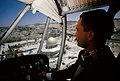 King Hussein flying over Temple Mount when it was under Jordanian control.jpg