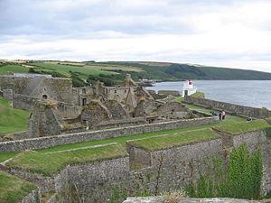 Charles Fort (Ireland) - Image: Kinsale fortress.panorama