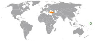Kiribati–Turkey relations Diplomatic relations between Kiribati and Turkey