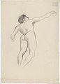 Klimt - Schwebender männlicher Rückenakt in starker Untersicht nach rechts.jpeg