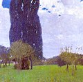 Klimt - The Tall Poplar Trees II, 1900.jpg