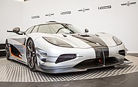 Koenigsegg (Agera) One-1 at Goodwood 2014 003.jpg