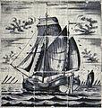 Kofschip door Meindert Jans Vogelzang circa 1795.jpg