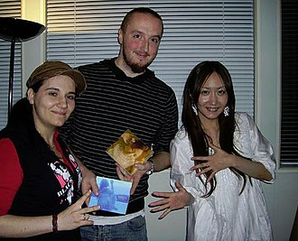 Kokia (singer) - Kokia (right) in 2008