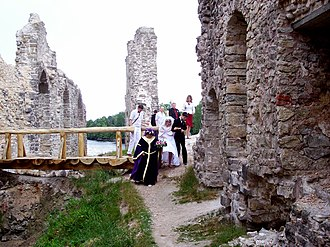 Koknese Castle - Image: Koknese 4