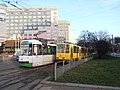 Konstal 105N2k2000 777+797 and Tatra T6A2D 251+252, tram line 11, Szczecin, 2020.jpg