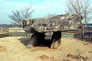 Mumun pottery period - Ganghwa dolmen, South Korea