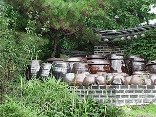 Onggi Type of Korean earthenware