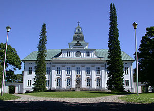 Vaasa - The Court of Appeal, nowadays the Church of Korsholm, survived the fire of 1852