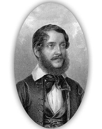 Lajos Kossuth - Lajos Kossuth's earliest known portrait (1838)