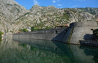 Kotor - Venetian fortifications of Kotor