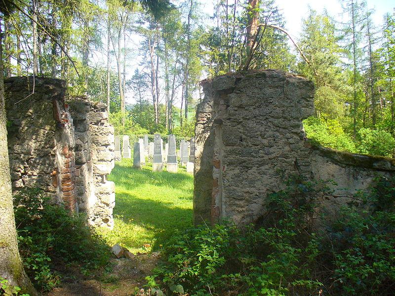 File:Kovářov - Židovský hřbitov 1.JPG