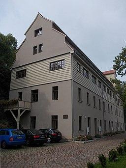 Untere Papiermühlenstraße in Halle
