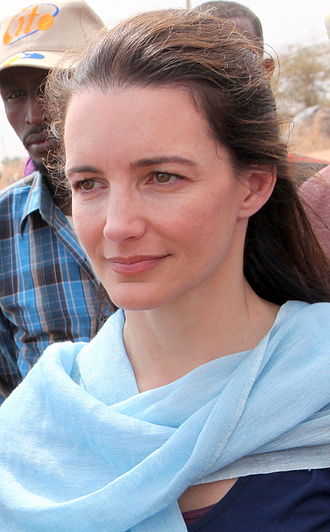 Kristin Davis - Davis pictured in Dadaab, Kenya on 8 July 2011.