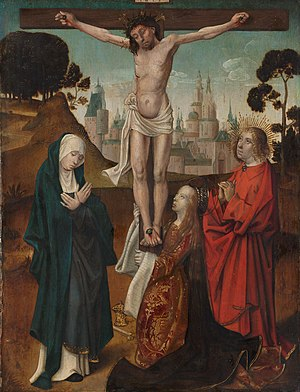 Crucifixion with the Virgin, Mary Magdalen and St John the Evangelist