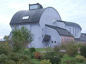 Järna, Södertälje Municipality - Erik Asmussen's Cultural Centre in Ytterjärna. (Ytterjärna Kulturhus)