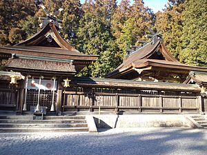 Kumano Hongū Taisha - Hongu Taisha main temple