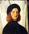 Kunsthistorisches Museum Wien, Lorenzo Lotto, junger Mann.JPG