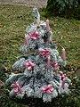 Kunstschnee Weihnachtsbaum 2011.JPG